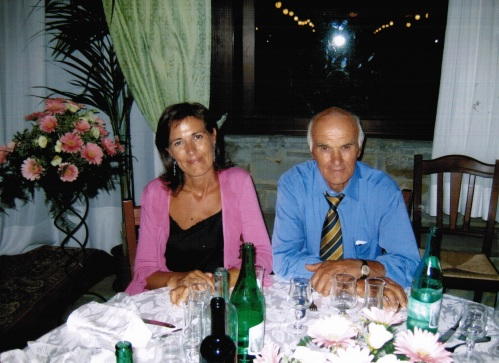 Rosa e papà, due gocce d'acqua